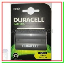 Batteria Ricaricabile DURACELL DRNEL3 = Nikon EN-EL3e x D50 70 80 90 100 200
