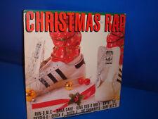 vinilo disco Various – Christmas Rap -compilation-año 1987