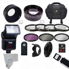 PRO FLASH / LENSES / FILTERS / 16GB  Kit for NIKON D3000 D3100 D3200 D3300 D5000