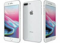 NEW SILVER VERIZON GSM UNLOCKED 64GB APPLE IPHONE 8 PLUS 8+ PHONE JT24 B