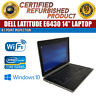 "C Grade Dell Latitude E6430 14"" Intel i5 4 GB RAM 250 GB HDD Win 10 WiFi Laptop"