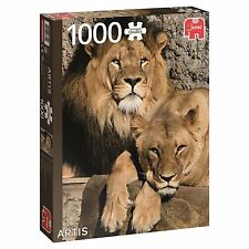 Jumbo Premium Quality 1000 Piece Jigsaw Puzzle - Lions From Artis Zoo 18341