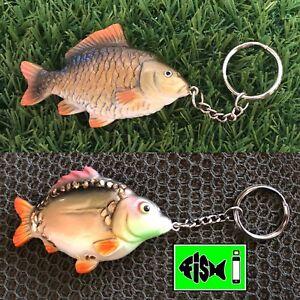 Carp Combo Keyrings ,Carp Fishing, keyrings. Anglers Keyrings,Fish Keyring.Gifts