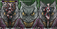JOKER YEAR OF THE VILLAIN 1 DC Jeehyung Lee Variant Harley Quinn Set of 3 Books