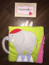 Ikea Kinderwagen Stoffbuch Buggybuch Plüsch Elefant Grau Grün Hase Clown Zirkus