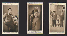 More details for 3 wills cinema stars 3rd #24 disney & mickey cigarette card 1931 + #7 & #15
