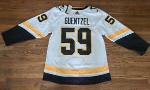 Large 52 Jake Guentzel Pittsburgh Penguins NHL Adidas Reverse Retro Jersey