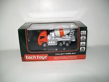 Tech Toyz Wireless Remote Control Mixer Truck Rechargeable 1:64 Scale New