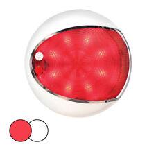 Hella Marine EuroLED 130 Surface Mount Touch Lamp - Red/White LED - White Housin