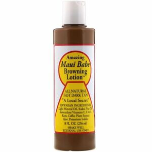 Maui Babe, Amazing Browning Lotion, 8 fl oz (236 ml) Tan Tanning