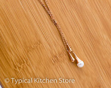 New Skagen Rosegold with Pearl Necklace Present Jewellery Three Droplets