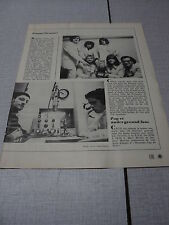 C002 WALLACE COLLECTION MARC MOULIN JACQUES MERCIER '1971 BELGIAN CLIPPING