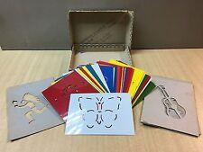 68176 Giocattoli Vintage - Set di normografi di disegni per bambini - Anni 50/60