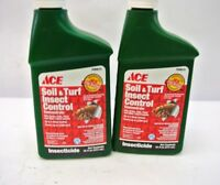 Soil & Turf Insect Control 16 Oz Concentrate, Insecticide, Qty 2 Bottles