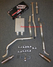 13 - 15 Toyota Tacoma Cat-back Dual Exhaust Side Exit - w/ Cherry Bomb Vortex