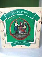 Hallmark Keepsake 1986 Ornament Joyful Carolers with Box Handcrafted