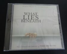 WHAT LIES BENEATH Alan Silvestri CD Soundtrack 2000 New FREE SHIPPING Sealed
