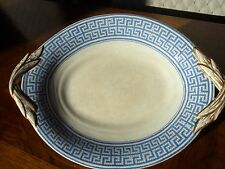"Antique 8"" Plate Blue and White Porcelain BBW&M England 1861"