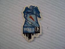 Vintage World Industries Sticker, Decal, New,