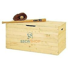 CASSAPANCA  BAULE BOX IN LEGNO MASSELLO ABETE