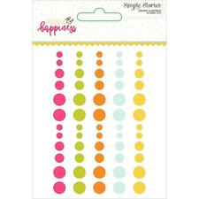 Simple Stories ~ SUNSHINE & HAPPINESS ~ Enamel Dots