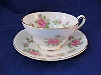 ANTIQUE STANLEY TEA CUP AND SAUCER - MADE IN ENGLAND
