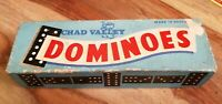 VINTAGE CHAD VALLEY DOMINOES NICE CONDITION DOUBLE 6 DOMINOES