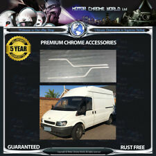 FORD TRANSIT CHROME WINDOW TRIM COVERS HIGH QUALITY 5y GUARANTEE 2000-2014 OFFER