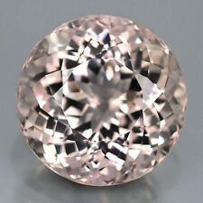 MORGANITE ROUND CUT 2.5 MM ALL NATURAL SOFT PINK