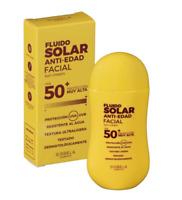 Fluid Anti-ageing Facial Sun Cream 50ml Sisbela Cosmetics FPS 50+ Ultralight