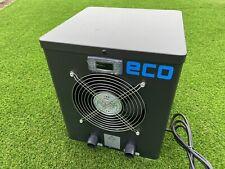 More details for eco heat pump steel body 2.2 kw plug n play for 8' 10' 12 ft splash pools black