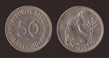 GERMANIA GERMANY 50 PFENNIG 1950 J
