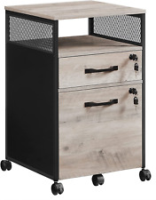 New Listingvasagle File Cabinet With Lock Filing Cabinet With 2 Storage Drawers For Hangi
