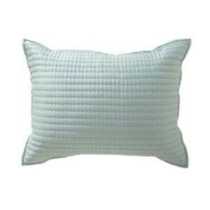 NEW Villa By Noble Excellence Amalfi 1 King Size Pillow Sham Mist Green