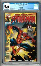 "Amazing Spider-Man #434 (1998) CGC 9.6  White Pgs. DeFalco ""Kaine"" ""NEWSSTAND"""