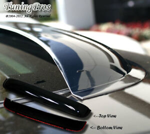 Chevy Avalanche 2002-06 5pcs Wind Deflector Outside Mount 2.0mm Visors & Sunroof