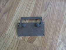Vintage Steel Industrial Cabinet Drawer Pull - Rectangular