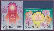 VIETNAM N°1942/1943** Héros du Travail, 2001 Vietnam 3016-3017 MNH