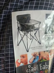 Travel Highchair EZ Open and Close Portable by Ciao! Baby, Lightweight