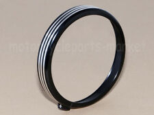 5.75 5 3/4 Headlight CNC Edge Cut Bezel Trim Ring Protect Cover Cap for Harley