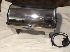 SPRING USA 2509-6A Rondo rect roll-top chafing dish Rectangular W/ Electric Heat