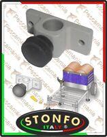 Colllier Stonfo pour Piquets Aluminium avec Vis de Verrouillage pour Panier