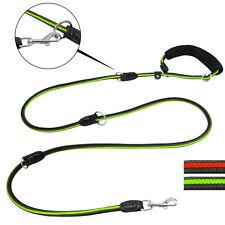 Multi Function Dog Leash Nylon Rope Dog Pet Training Short Long Medium Lead