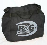 R & G Deluxe Helmet Bag - Fleece Lining Universal helmet bag- DHB0001BK