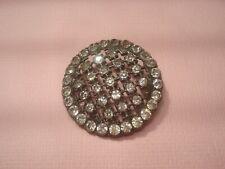 Ancien BOUTON 1900 en Strass / antique Button