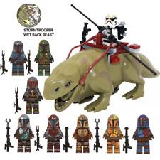 Collection 10X Minifigures Mandalorian Army Star Wars Boba Fett Jango Fit Lego