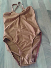 """Ballettbekleidung - Trikot """"201"""" - LYCRA  rostbraun Gr. 36 (fällt klein aus)"""