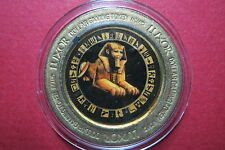 COLORED  LUXOR  HOTEL CASINO $1 GAMING TOKEN, Las Vegas, NV. Very Good Condition