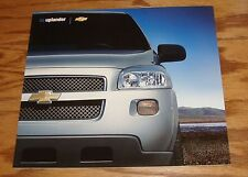 Original 2005 Chevrolet Uplander Deluxe Sales Brochure 05 Chevy 11/04