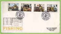 GB 1981 Fishing set on Post Office First Day Cover Aberdeen h/s